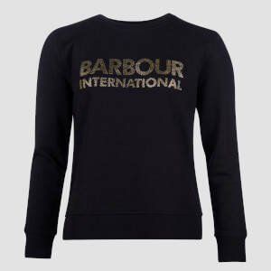 Barbour International Women's Downforce Overlayer - Black