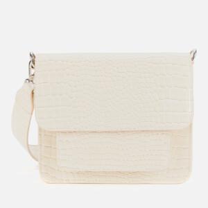 HVISK Women's Cayman Pocket Cross Body Bag - Soft Off White