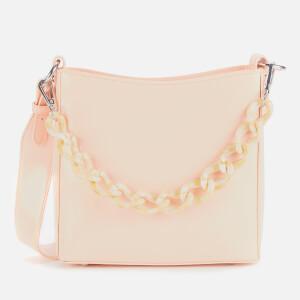 HVISK Women's Amble Glossy Small Shoulder Bag - Light Pink