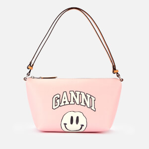 Ganni Women's Smiley Print Bag - Pale Lilac