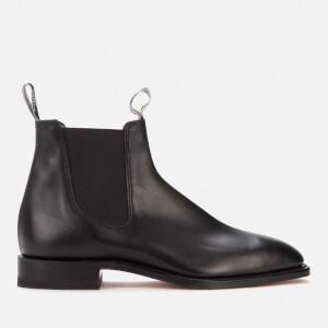 R.M. Williams Men's Classic Craftsman Leather Chelsea Boots - Black