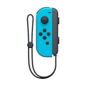 Nintendo Switch Neon Blue Joy-Con Controller (L)