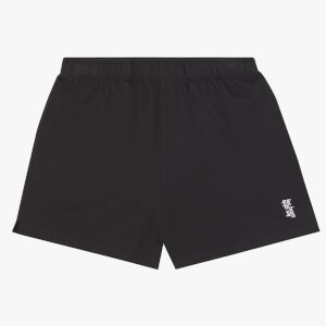 Les Girls Les Boys Women's Jersey Apparel Loose Shorts - Black