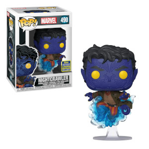 Marvel X-Men Nightcrawler Teleporting Convention EXC Pop! Vinyl