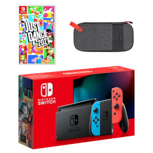 Nintendo Switch (Neon Blue/Neon Red) Just Dance 2021 Pack