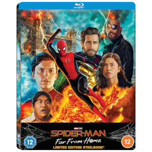 Spider-Man: Far From Home - Zavvi Exclusive Lenticular Steelbook (Includes Blu-ray)