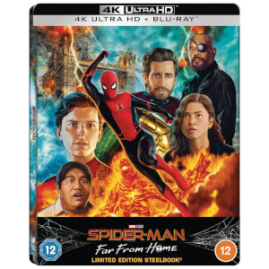 Spider-Man: Far From Home - Zavvi Exklusives 4K Ultra HD Lenticular Steelbook (Inkl. Blu-ray)
