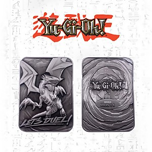 Yu-GI-Oh! Limited Edition Blue Eyes White Dragon Metal Card
