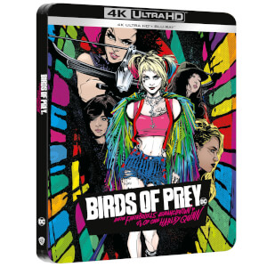 Birds of Prey - Steelbook 4K Ultra HD (Blu-ray Inclus) - Exclusivité Zavvi