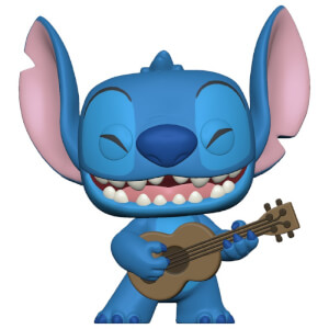 Disney Lilo&Stitch - Stitch Con Ukelele Figura Funko Pop! Vinyl