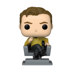 Star Trek Captain Kirk in Chair Funko Pop! Vinyl