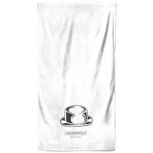 Monopoly Hat Figure Bath Towel