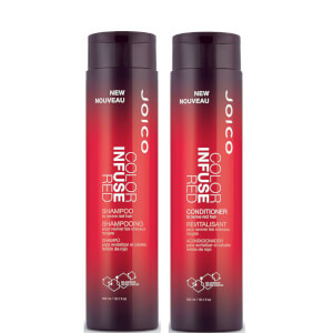 Joico Color Infuse Red Shampoo and Conditioner (2 x 300ml)