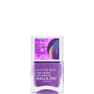 nails inc. Feel The Hotness Thermochromic Polish