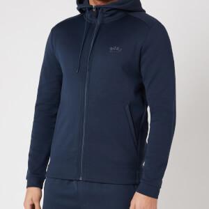 BOSS Athleisure Men's Saggy Zip Hoodie - Navy