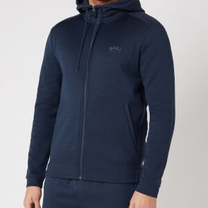 BOSS Athleisure Men's Saggy Zip Hoodie - Navy