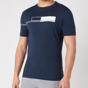 BOSS Athleisure Men's Tee 1 T-Shirt - Navy