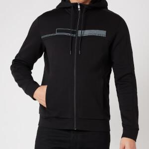 BOSS Athleisure Men's Saggy 1 Zip-Through Hoodie - Black