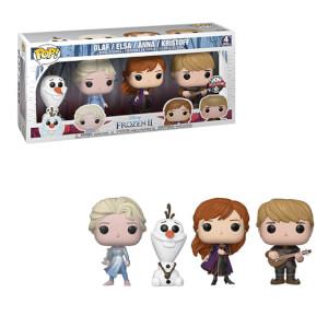 Disney Frozen 2 Elsa, Olaf, Anna & Kristoff EXC Pop! 4-Pack Pop! Vinyl