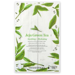 Vitamasques Jeju Green Tea Sheet Face Mask
