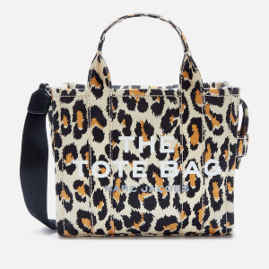 Marc Jacobs Women's Mini Leopard Traveler Tote Bag - Natural Multi
