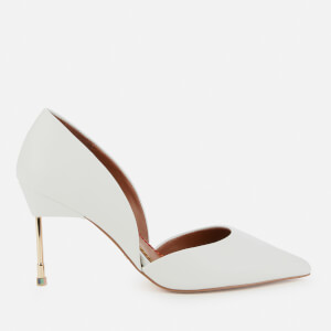 Kurt Geiger London Women's Bond 90 Leather Court Shoes - White