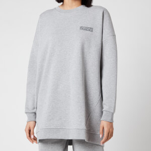 Ganni Women's Software Isoli Oversized Sweatshirt - Paloma Melange