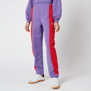 Ganni Women's Software Block Isoli Trackpants - Deep Lavender