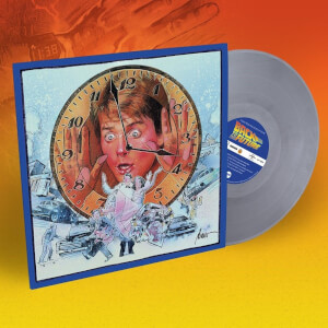 Mondo Back To The Future - Music From The Motion Picture Delorean Grey LP