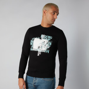 MTV Typography Sweatshirt - Noir