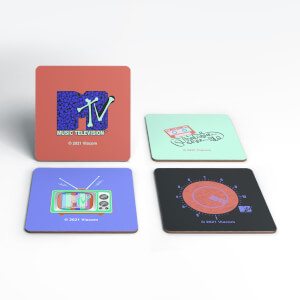 MTV 4 Coaster Set