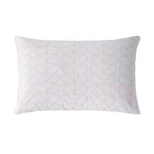 Orla Kiely Linear Stem Cloud Pink Pillow Case Pair