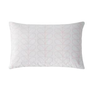 Orla Kiely Linear Stem Cloud Pink Pillow Case Pair