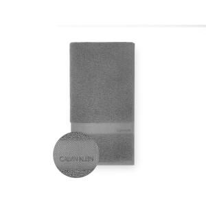 Calvin Klein Tracy Bath Towel - Charcoal