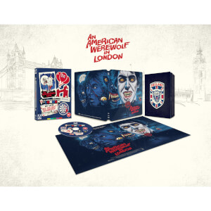 An American Werewolf in London Zavvi Exclusive Blu-ray Steelbook With Rigid Slipcase