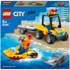 LEGO City: Great Vehicles Beach Rescue ATV Toy (60286)