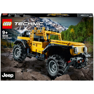 LEGO Technic: Jeep Wrangler Toy Car (42122) from I Want One Of Those