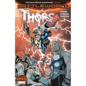 Marvel Thors (Secret Wars: Battleworld: Thors) Graphic Novel Paperback