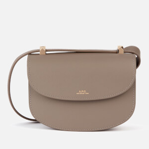 A.P.C. Women's Mini Geneve Shoulder Bag - Grey