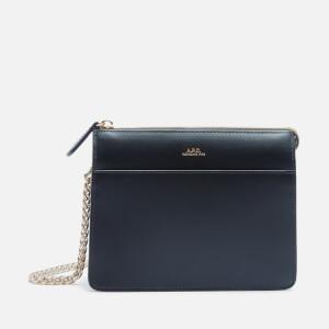 A.P.C. Women's Ella Mini Chain Bag - Black
