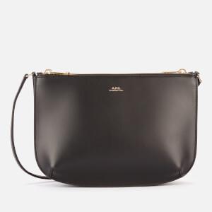 A.P.C. Women's Sarah Cross Body Bag - Black