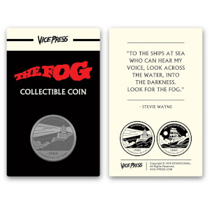 John Carpenter's - The Fog Limited Edition Silver Collector Coin