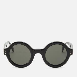 Gucci Men's Acetate Frame Sunglasses - Shiny Black