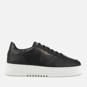 Axel Arigato Men's Orbit Tonal Leather Trainers - Black