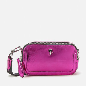 Karl Lagerfeld Women's K/Ikonik 3D Pin Camera Bag - Metallic Pink