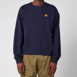 Kenzo Men's Tiger Crest Classic Sweatshirt - Navy Blue