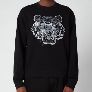 Kenzo Men's Gradient Tiger Classic Sweatshirt - Black