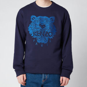 Kenzo Men's Light Tiger Classic Sweatshirt - Navy Blue