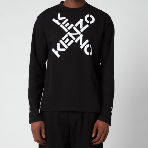 Kenzo Men's Sport Long Sleeve T-Shirt - Black