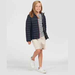 Barbour Girls' Saltburn Quilted Coat - Navy